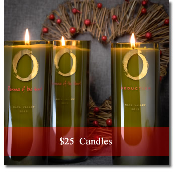 Candles, $25