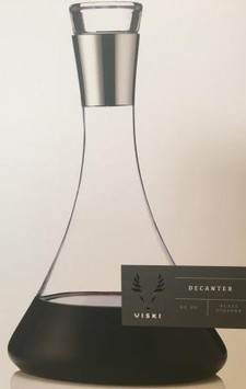 Decanter Chrome top
